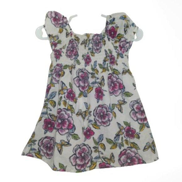 ⭐ The Children's Place Infant Floral Smocked Dress